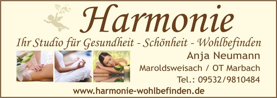 Harmonie-Wohlbefinden
